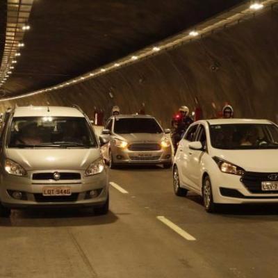 Dia histórico para Niterói! Túnel Charitas-Cafubá é aberto!
