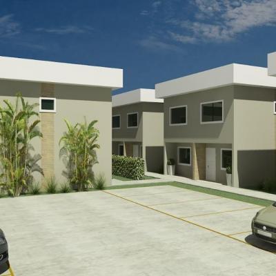 Casa em condomínio Peró Cabo Frio obra iniciada