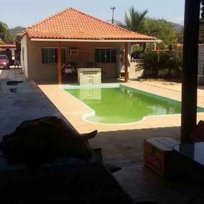 Aceita troca por casa em Itaipu - Ótima casa Jd Atlântico Itaipuaçu 3 quartos 2 suites lazer piscina churrasqueira