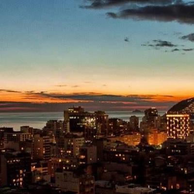 Oportunidade - Flat Leblon - Rio Design suite 2 banheiros lazer